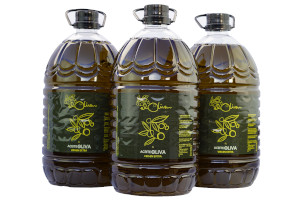 Caja de 3 botellas de 5 litros de Aceite de Oliva Virgen Extra de Casas Rurales EL OLIVAR - YESTE