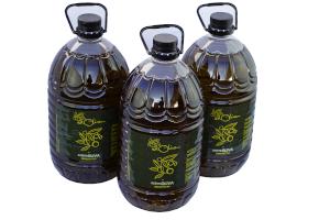 3 Botellas de 5 litros de AOVE de Casas Rurales EL OLIVAR - YESTE